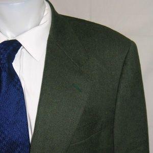 Canali Cashmere Blend Two Button Blazer 44 R